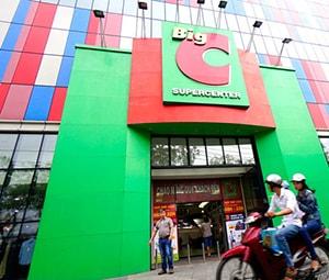 Cung cấp máy bán hàng, két đựng tiền, máy kiểm kho cho hệ thống siêu thị BigC