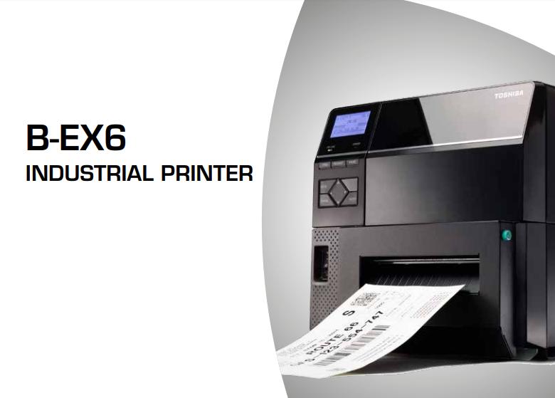Máy in mã vạch tem nhãn công nghiệp B-EX6T