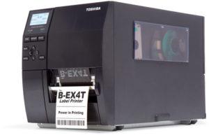 Máy in mã vạch Toshiba nhiệt trực tiếp và truyền nhiệt