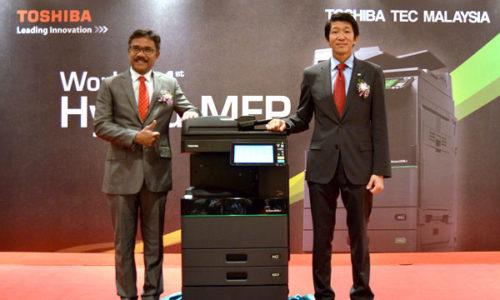 Máy in mã vạch Toshiba đạt chứng chỉ BSI