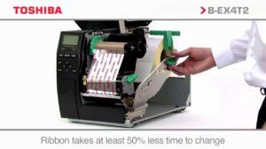 máy in mã vạch Toshiba dễ dàng bảo trì