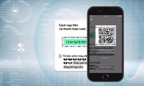 Nạp tiền điện thoại bằng code 3D