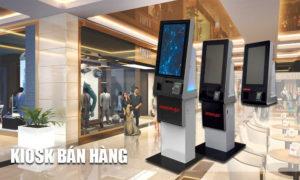 Hoặc Kiosk POS tự động được sử dụng bán hàng ở nhiều hệ thống nhà hàng, trung tâm thương mại