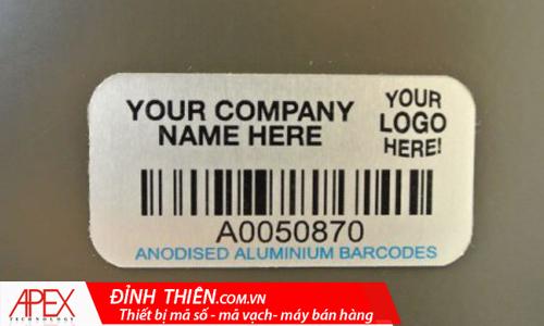 Nhãn mã vạch quản lý hàng hóa dịch vụ
