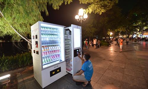 máy bán hàng tự động tại Hà Nội