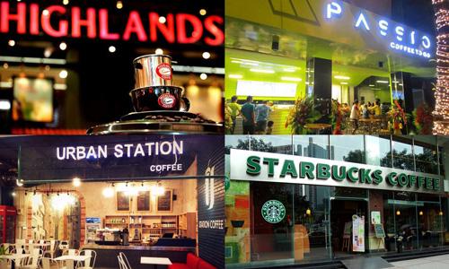 Chuỗi cafe phát triển mạnh tại Việt Nam