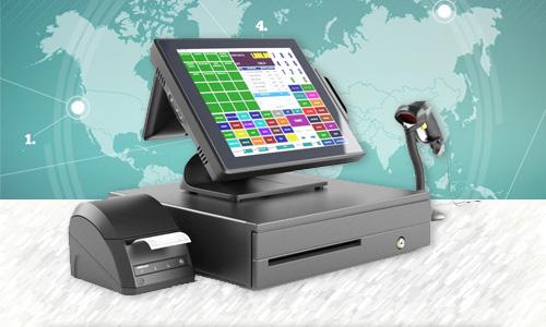 máy pos bán hàng, máy tính tiền cảm ứng Posiflex