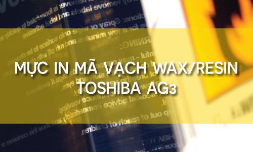 Mực in mã vạch Wax_resin Ag3