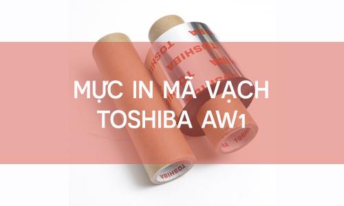 Mực in mã vạch ribbon Toshiba AW1