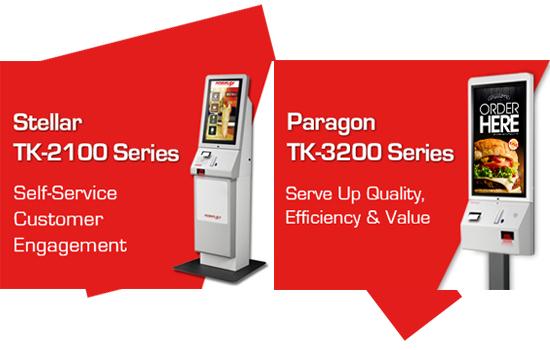 Posiflex ra Kiosk mới TK-2100 và Tk-3200