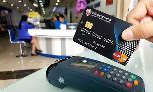 Máy POS thanh toán ngân hàng