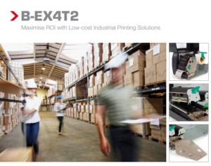 Máy in mã vạch tem nhãn B-EX4T2