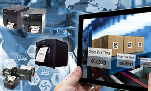 Giải pháp in ấn đặc biệt của Toshiba ứng dụng vào vận tải, logistic