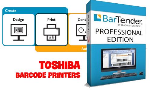 Phần mềm in tem nhãn mã vạch của Toshiba