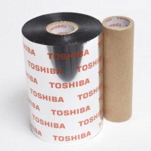Ribbon mực in mã vạch Toshiba Wax AW3