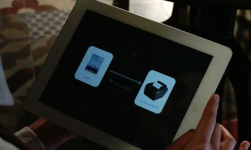 Máy in bill, hóa đơn Aura, kết nối app đơn giản, nhanh chóng