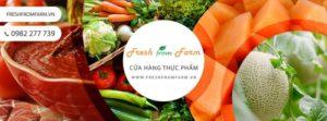Cửa hàng thực phẩm sạch Fresh from Farm