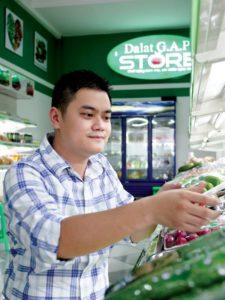 Cửa hàng thực phẩm sạch  Đà Lạt GAP