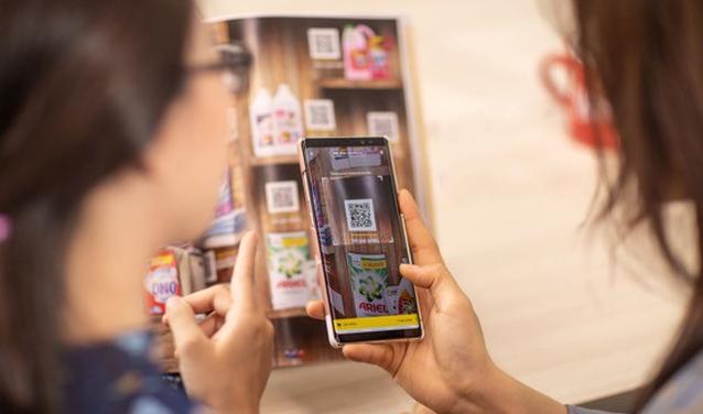 Ứng dụng công nghệ mã vạch vào mua sắm