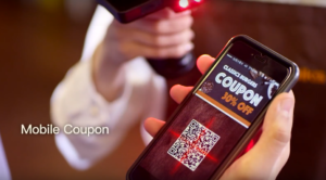Tính năng quét mã QR coupon