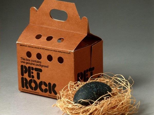 Những viên đá trở thành vật nuôi.