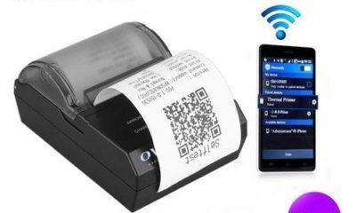 máy in bill, hóa đơn, di động không dây