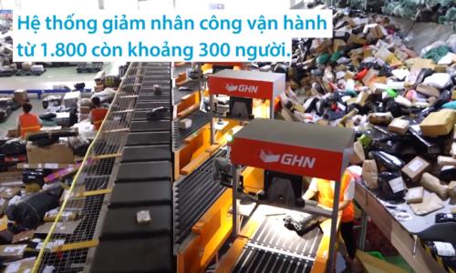 Hệ thống phâm loại đơn hàng 30,000 đơn mỗi giờ