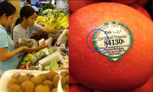 """Mua trái cây nhớ tránh tem dán bắt đầu bằng số này kẻo """"hỏng"""" nội tạng, ảnh hưởng sinh sản"""