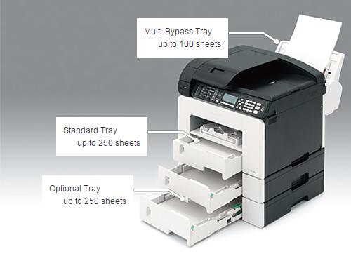 Khay giấy Option tray