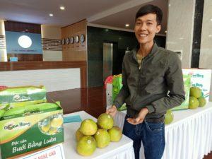 Anh Phan Tùng Lâm, Hợp tác xã công nghệ cao Đoan Hùng.