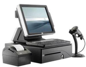 Máy tính tiền cảm ứng HP