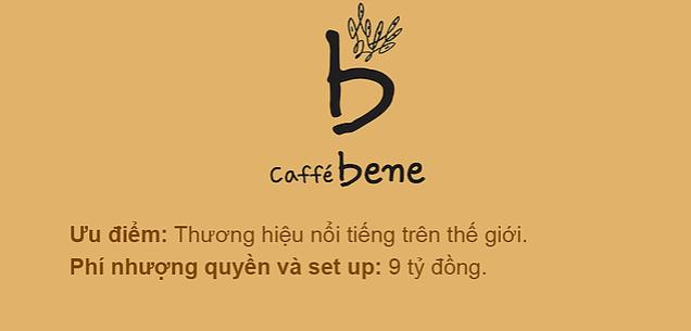 Chuỗi cafe Bene