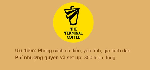 Chuỗi cafe The Terminal