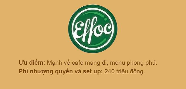 Chuỗi cafe Efoc