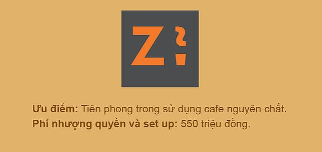 Chuỗi cafe Z