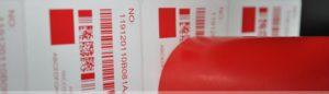 Dùng mực in màu đỏ để in