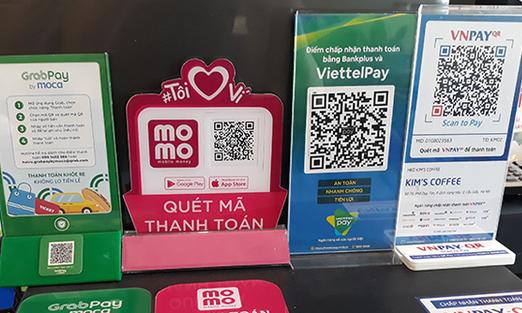 Thanh toán di động momo, viettel pay, Vin pay, Grap pay, Zalo Pay, ngày càng được sử dụng phổ biến