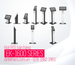 Kiosk Kiot ki ốt POS bán hàng PosiflexEK 1600