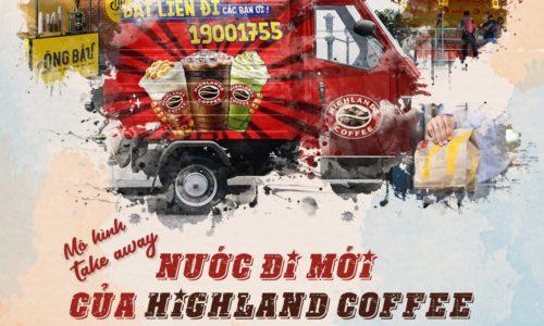 Mô hình cafe Take away - Nước đi mới của Highland