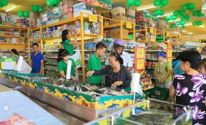 Bách hóa Xanh đang cố gắng nâng diện tích cửa hàng và số lượng sản phẩm, tập trung vào các thực phẩm tươi sống