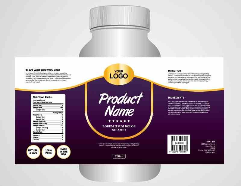 Thiết kế nhãn sản phẩm bằng nhiều cách với nhiều phần mềm khác nhau