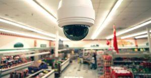 Camera An ninh trong cừa hàng siêu thị